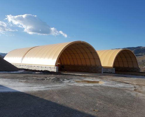 Salt-Sand Storage Buildings, Wyoming